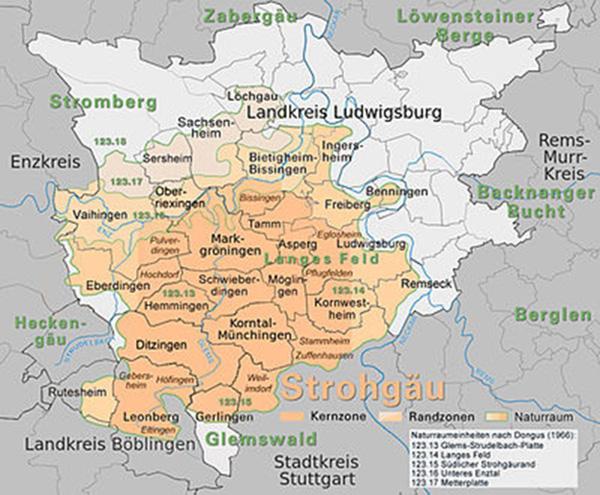 Strohgäu-Karte