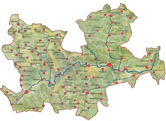 Region Obere Donau